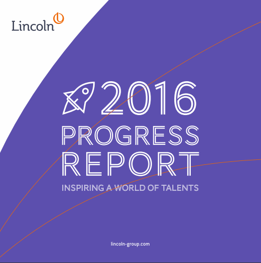 Discover our 2016 progress report !